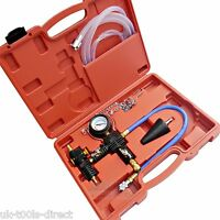 COOLING SYSTEM VACUUM PURGE & REFILL KIT UNIVERSAL SET WITH INSTRUCTIONS