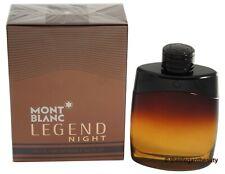 Legend Night By Mont Blanc 3.4oz/100ml Edp Spray For Men New In Box