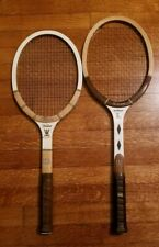 Pair Of Wilson Jack Kramer Pro Staff & JR Autograph Wood Racquets Made In USA
