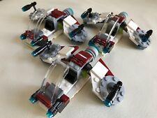3 LEGO Star Wars Republic Clone speeders (75206) Squadron
