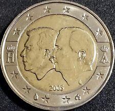 2 EUROS BELGICA 2005 CONMEMORATIVA SIN CIRCULAR.