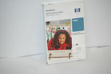 HP Premium Glossy Photo Paper for Inkjet 4x6 Glossy 9 Mil 60 sheets Q1989A