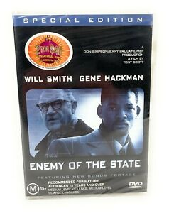 Enemy Of The State Special Edition (DVD, 1998) Will Smith New & Sealed R4