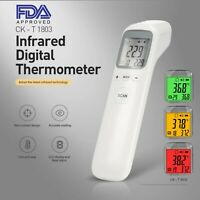 Touchless No-Contact Forehead Infrared Thermometer FDA & CE Medical-grade Adult