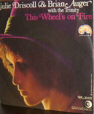 """JULIE DRISCOLL & BRIAN AUGER WITH THE TRINITY  7""""  THIS WHEEL' ON FIRE ( DYLAN )"""