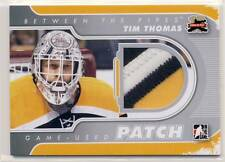 TIM THOMAS 2011-12 11/12 ITG Between the Pipes BTP PATCH /19 3-COLOR BRUINS *