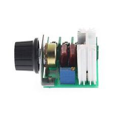 2000w Ac 50-220V 25A Regulador de Voltaje  controlador de velocidad de motor
