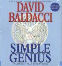 Simple Genius by David Baldacci; Audio CD, Unabridged; King & Maxwell
