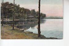 The Lake looking North Mohegan Park Norwich CT  250th/125th Souvenir 28522