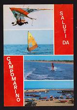 SALUTI DA CAMPOMARINO MARINA DI MARUGGIO TARANTO CARTOLINA FG VG 1983