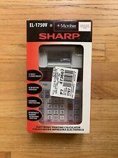 Sharp EL1750V Printing Calculator