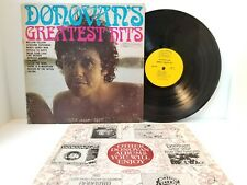Donovan's Greatest Hits Vinyl LP Gatefold w/ Booklet Epic - Play Tested VG-  *A7