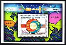 Upper Volta / Burkina Faso - 1975 Space / Apollo-Sojuz - Mi. Bl. 36 MNH