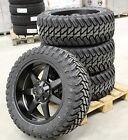 Suciedad D39 9x20 5x120/127 LLANTAS + Neumáticos Atturo M/T 33x12, 5x20 Jeep