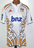CHIEFS NEW ZEALAND RUGBY UNION SHIRT JERSEY ADIDAS XL ADULT