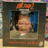 Evil Dead 2 Evil Ash 3D Poly Resin Collectible Magnet Trick or Treat Studios
