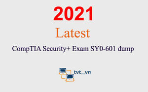 CompTIA Security+ SY0-601 dump latest questions (1 month update)