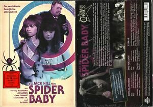 SPIDER BABY --- Blu-ray + DVD --- Limited Edition --- Jack Hill --- Neu & OVP --