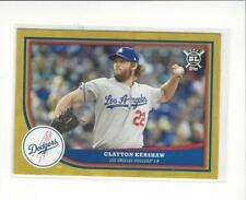 2018 Topps Big League Gold #50 Clayton Kershaw Dodgers