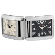Emporio Armani AR6003 Desk Clock Watch Brand New in Box RARE