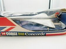 CORGI TOYS 650 * BRITISH AIRWAYS CONCORDE * OVP * 1976