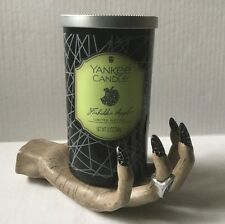 Yankee Candle WITCHES' HAND & FORBIDDEN APPLE 12 oz. PERFECT PILLAR HTF RETIRED