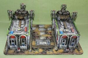 SUPERB 28MM WH40K? SCI-FI SCENIC TERRAIN SCENERY PIECE ARMY COLLECTION NICE LOT