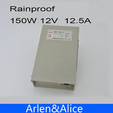 150W 12V 12.5A Rainproof outdoor Single Output Switching power supply smps