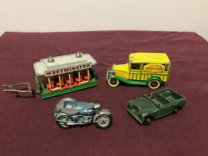Matchbox Lesney Lledo model cars - TRIUMPH T110, LAND ROVER, ETC - pre-owned