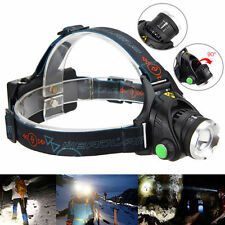 Zoomable 6000LM XM-L T6 LED Headlamp Focus HeadLight Fishing Torch 18650/AA Lamp