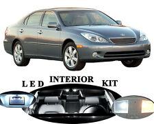 LED for Lexus ES 300 Xenon White LED Interior + Vanity Package Upgrade (11 pcs)