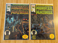 Monster Matinee #1, #3 by Forrest J. Ackerman Kyle Hotz (1997, Chaos Society)