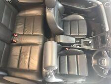 Audi A4 Cabriolet B6/B7 S Line Black Leather Interior