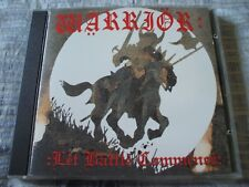 Warrior Let Battle Commence RARE 1994 Vinyl Tap CD Re-Issue NWOBHM EX+