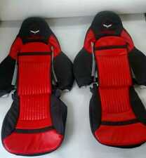 C5 CORVETTE Sport Style Replacement Synthetic Leather Seat Covers with logo