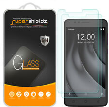 "2X Supershieldz T-Mobile ""REVVL Plus"" Tempered Glass Screen Protector Saver"