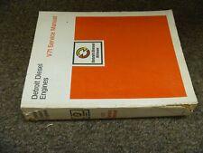1990-1992 Detroit Diesel 6V-71 8V-71 12V-71 16V-71 Engine Service Manual 1991