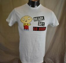 Mens Family Guy Stewie Ready Set Go Away Shirt LOOK S