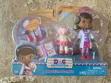 New Disney DOC McStuffins Physician Lambie Gets Checkup Doll Doctor Thermometer