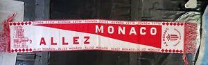 Maillot jersey echarpe om psg as monaco vintage 1990 90 retro weah 1991 92 93