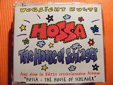 Hossa / The House of Schlager - Vorsicht Kult -  Maxi CD