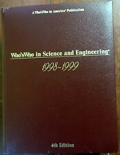 Who's Who in Science and Engineering 1998-1999, 4th Edition, HC