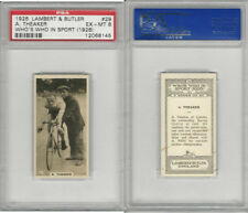 L8-98 Lambert, Who's Who In Sports, 1926, #29 A. Theaker, Cycling, PSA 6 EXMT