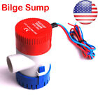 12V 1100GPH Electric Marine Submersible Bilge Sump Water Pump for Boat Yacht USA photo