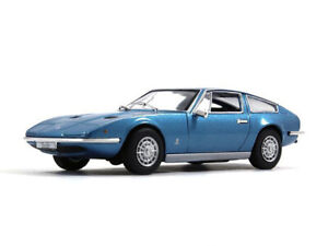 Maserati Indy Blue Fastback GT Сollection Diecast Model Car 1:43 Scale (1968)