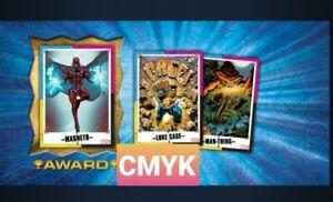 Topps Marvel Collect  CMYK Series 14 FULL COLOR MELD + CMYK [10 CARD SET]