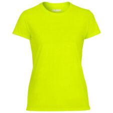 Magliette da donna verde in poliestere taglia S
