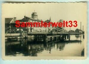Foto Stadt MEMEL / Börsenstraße / Geschäfte / Memelland - LITAUEN 1940 !!! F376
