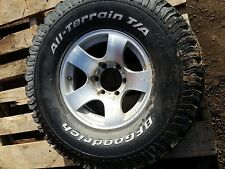 toyota 80 series landcruiser land cruiser patrol wheel and tyre 1 only