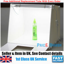 PROFESSIONAL PHOTO STUDIO MEDIUM TALL PORTABLE LIGHT BOX CUBE TENT MINI KIT - UK